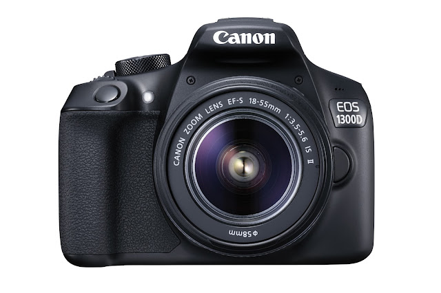 Canon EOS 1300D with EF-S 18-55mm Lens