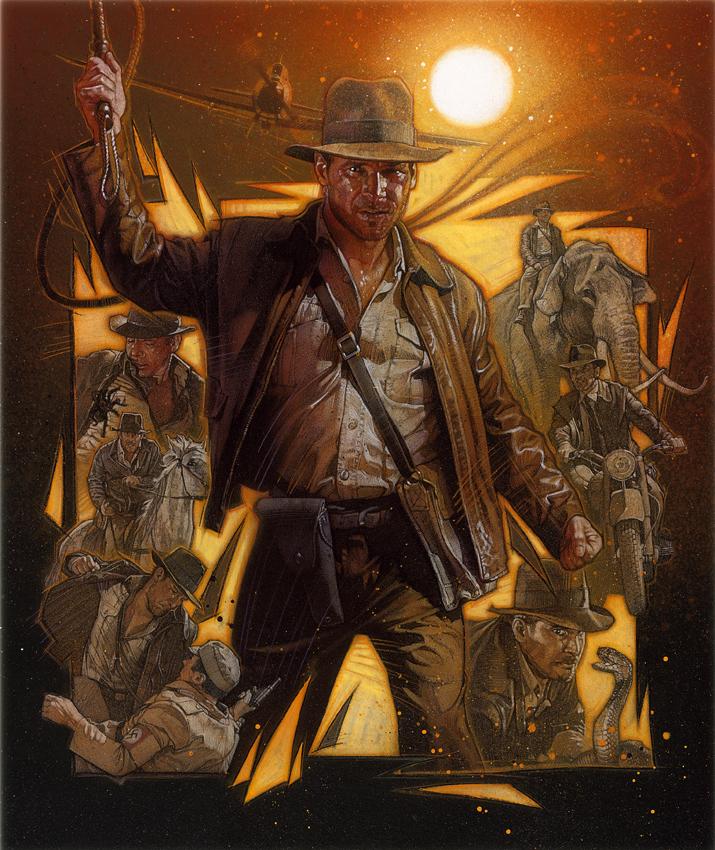 The Geeky Nerfherder: Movie Poster Art: Indiana Jones