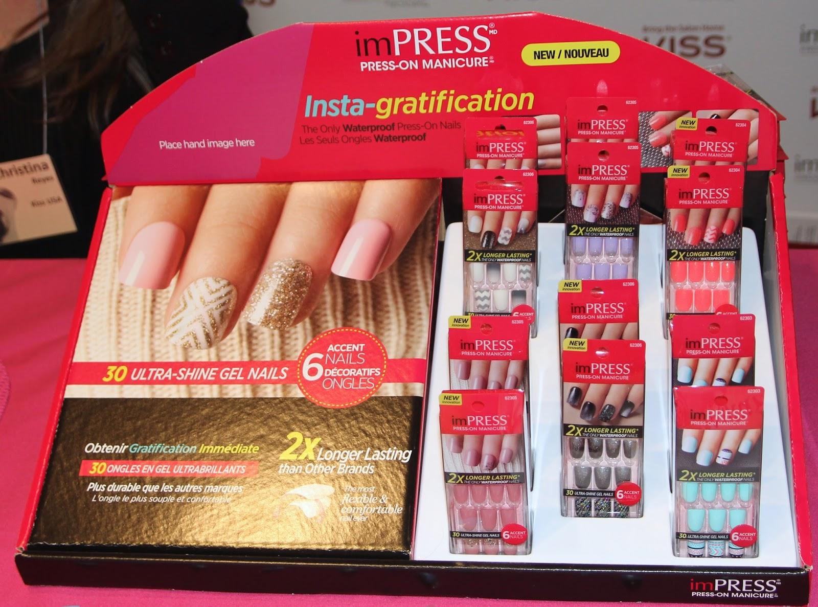 Hapamanda\'s Beauty Blog: How To: Apply imPRESS Gel Manicure Nails!
