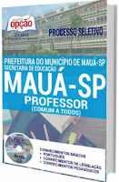 Apostila Prefeitura de Mauá 2016 Professor