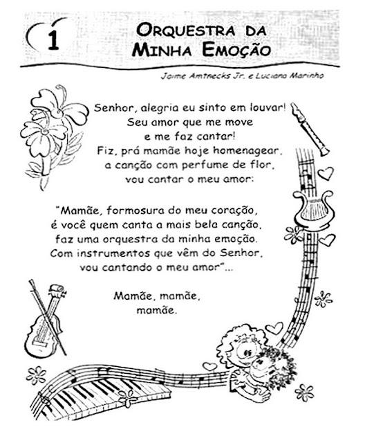 Confira algumas músicas do o dia das mães para educação infantil Lindas cações para preparar apresentações para nossas tão especiais mamães
