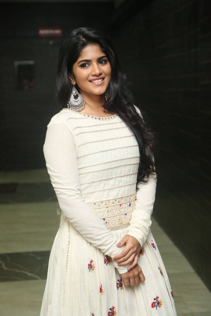Megha Akash At LIE Pre Release Function Stills