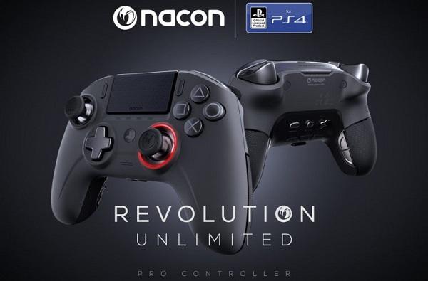 الكشف عن جميع تفاصيل يد التحكم Revolution Unlimited Pro القادمة من Nacon لجهاز PS4 ، مميزات رائعة..