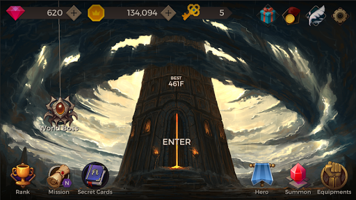 Secret Tower 500F MOD Unlimited Apk Android Terbaru Free Download