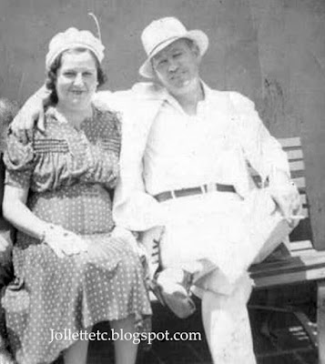 Julia Walsh and Fred Slade 1940 https://jollettetc.blogspot.com