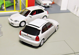 Tomica Limited Vintage NEO LV-N158a  97 Honda Civic Type-R