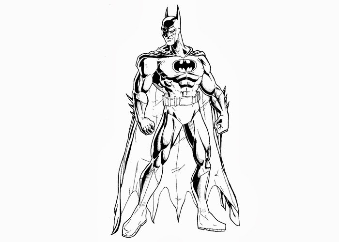 Batman Black Knight Coloring Pages