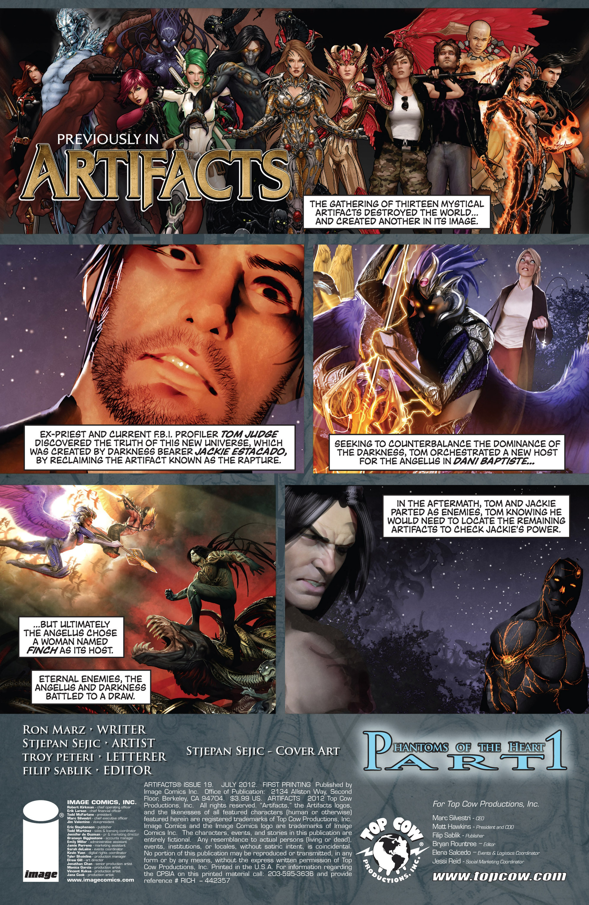 Read online Artifacts comic -  Issue #19 - 3