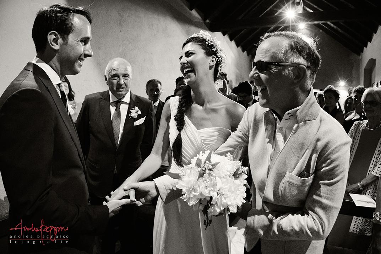 sposi altare matrimonio Alassio