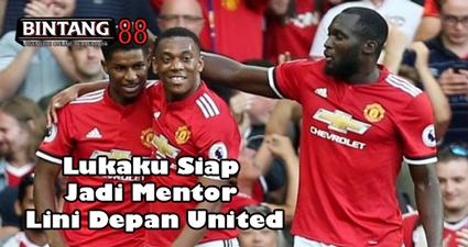 Lukaku Siap Jadi Mentor Lini Depan United