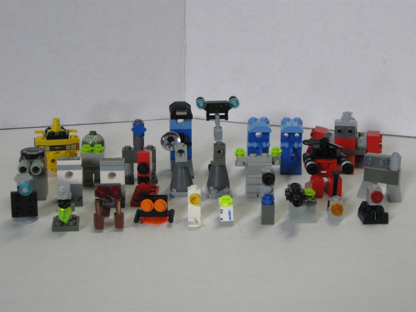 Mini Lego Robots | www.imgkid.com - The Image Kid Has It!