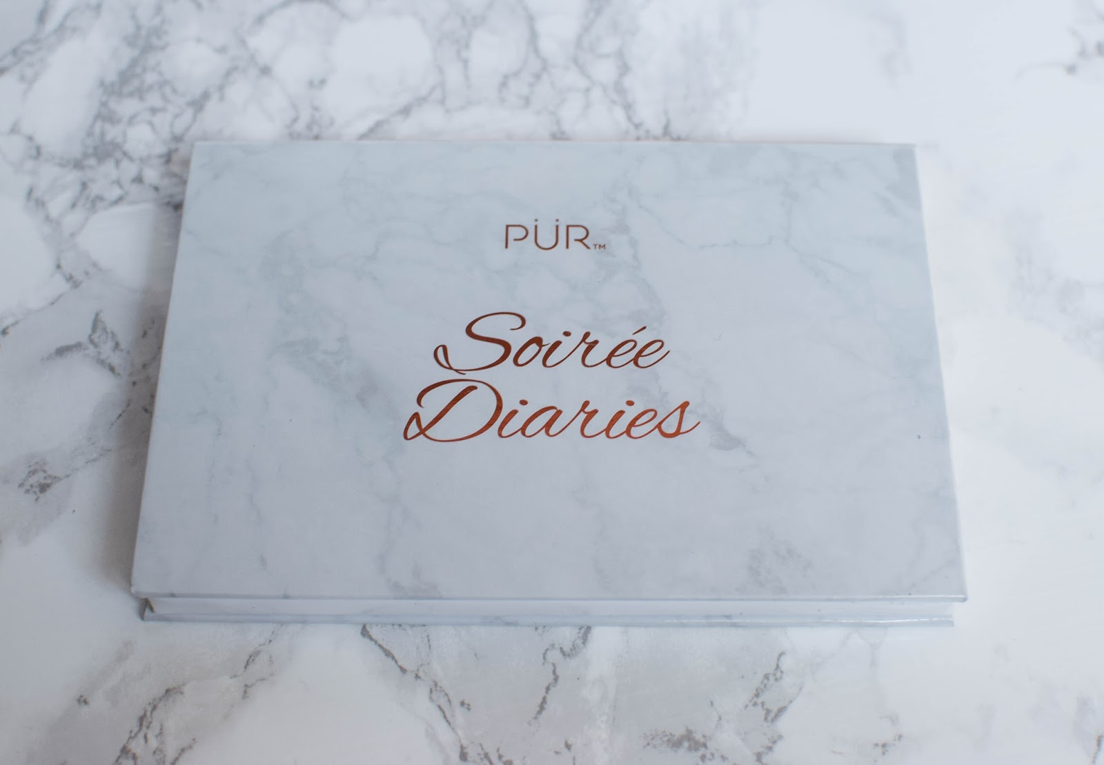 Pur Minerals Soiree Diaries Palette from Boxycharm September 2017