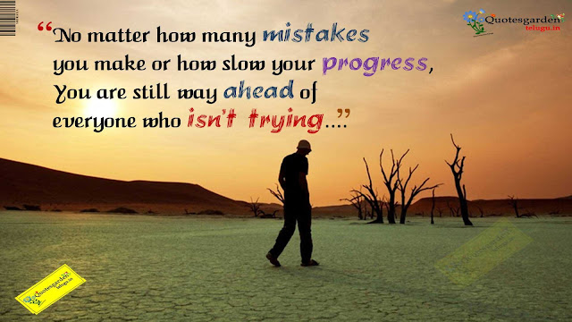 best heart touching quotes about life mistakes and progress