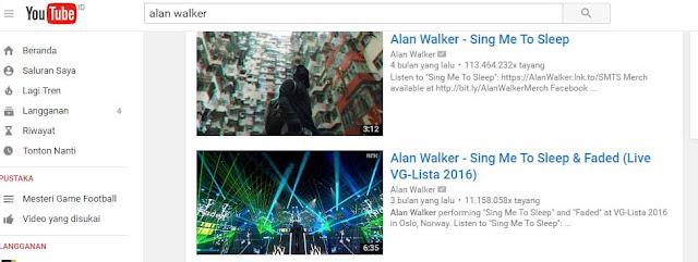 Cari Video Youtube yang ingin kamu ubah dengan format mp3