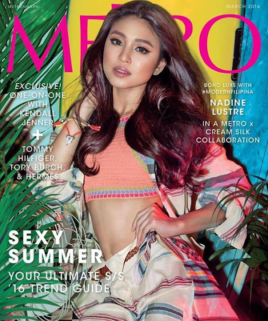 Nadine Lustre Gets 2 Metro March 216 Covers