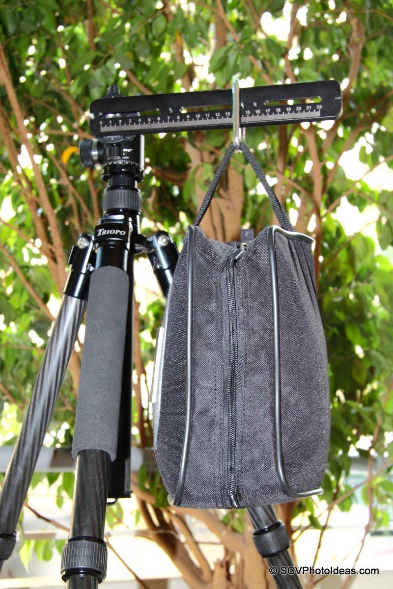 Sunwayfoto DDH-02 w/ rail & sand bag - torque test