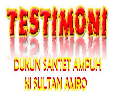 DUKUN SANTET AMPUH - TESTIMONI