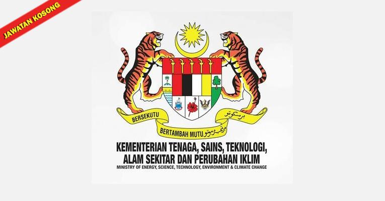 Jawatan Kosong di Kementerian Tenaga Sains, Teknologi, Alam Sekitar & Perubahan Iklim MESTECC