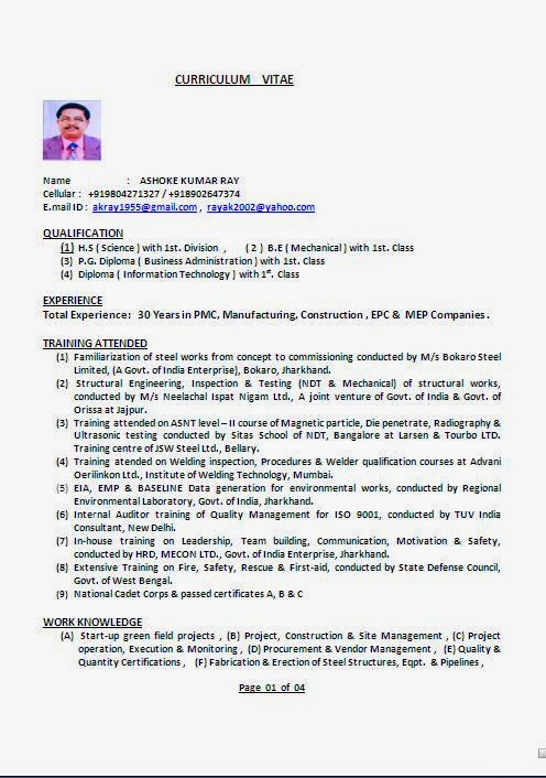 Piping Commissioning Engineer Resume