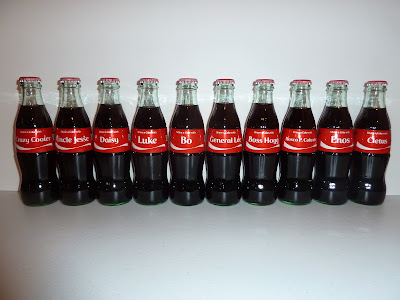 Coca-Cola and the Dukes of Hazzard - Share a Coke Dukes Bottles