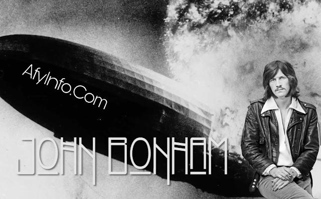 Drummer John Bunham (Led Zeppelin)