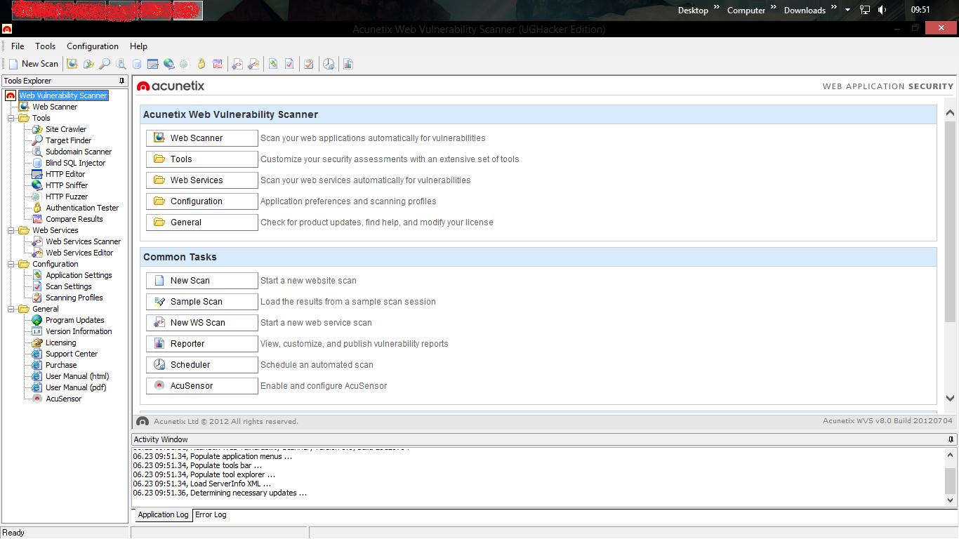 XRWRR: Acunetix Web Vulnerability Scanner v8 0   Full