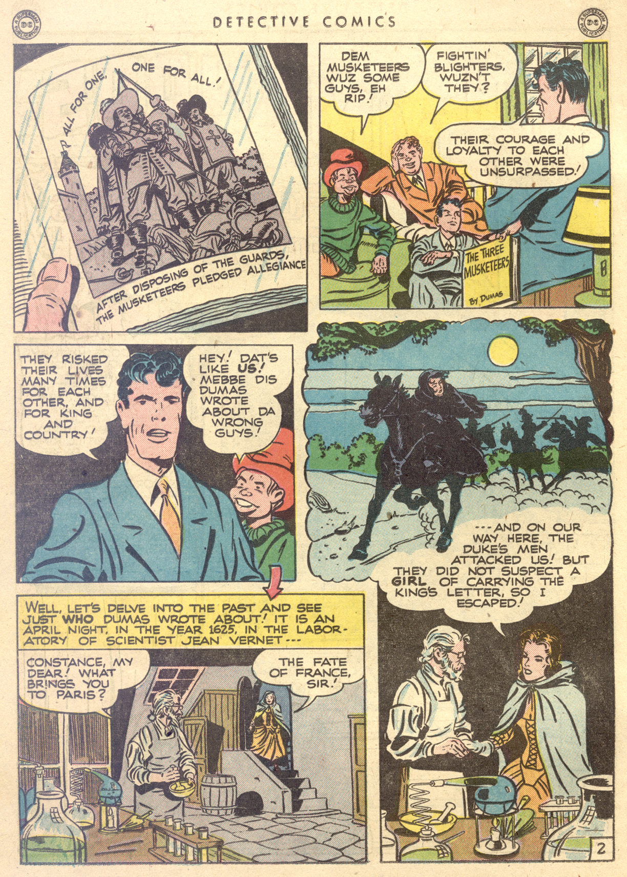 Read online Detective Comics (1937) comic -  Issue #122 - 38