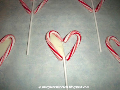 Margaret's Morsels | Candy Cane Lollipops