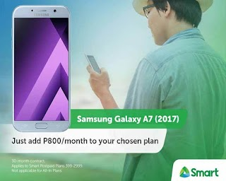 Samsung Galaxy A7 (2017) now Available on Smart Postpaid Plan 999