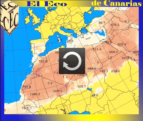 La calima abandona Canarias el 25 junio