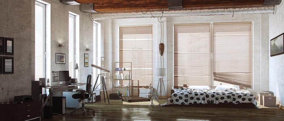 loft-spotted-duvet-industrial-beds