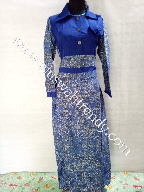 Batik Sarimbit 012 Kemeja Gamis