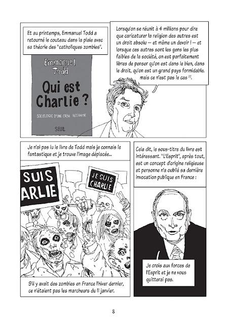 page extraite DE L'ESPRIT DU 11 JANVIER, UNE ENQUËTE MYTHOLOGIQUE DE LEHMAN ET GESS chez Delcourt