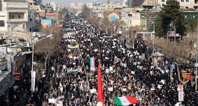 مظاهرات ضد نظام طهران