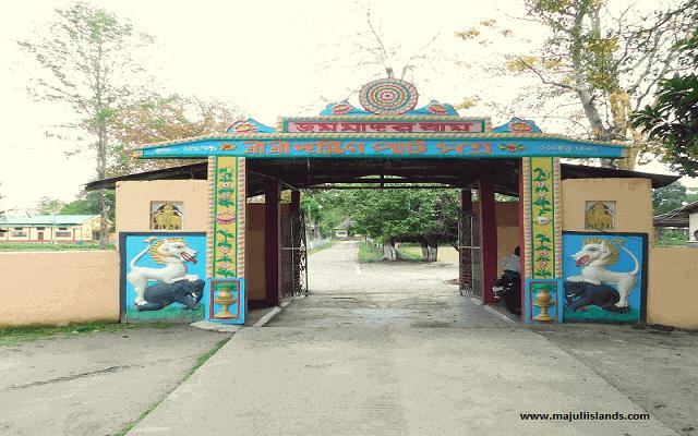 Dakhinpat Satra Of Majuli Island