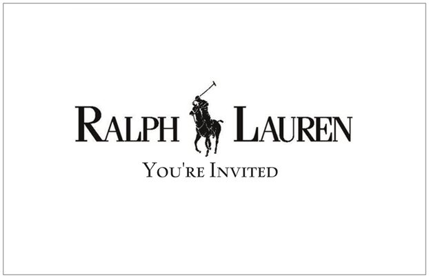 Ralph Lauren Polo Baby Shower Invitations Party