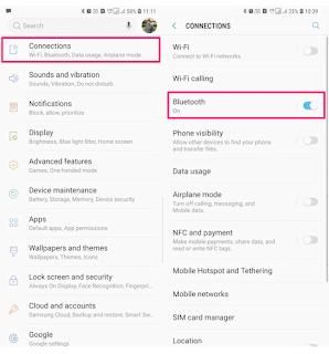 Begini Cara Connect Dua Alat Bluetooth Secara Bersamaan Pada Galaxy S8 / S9