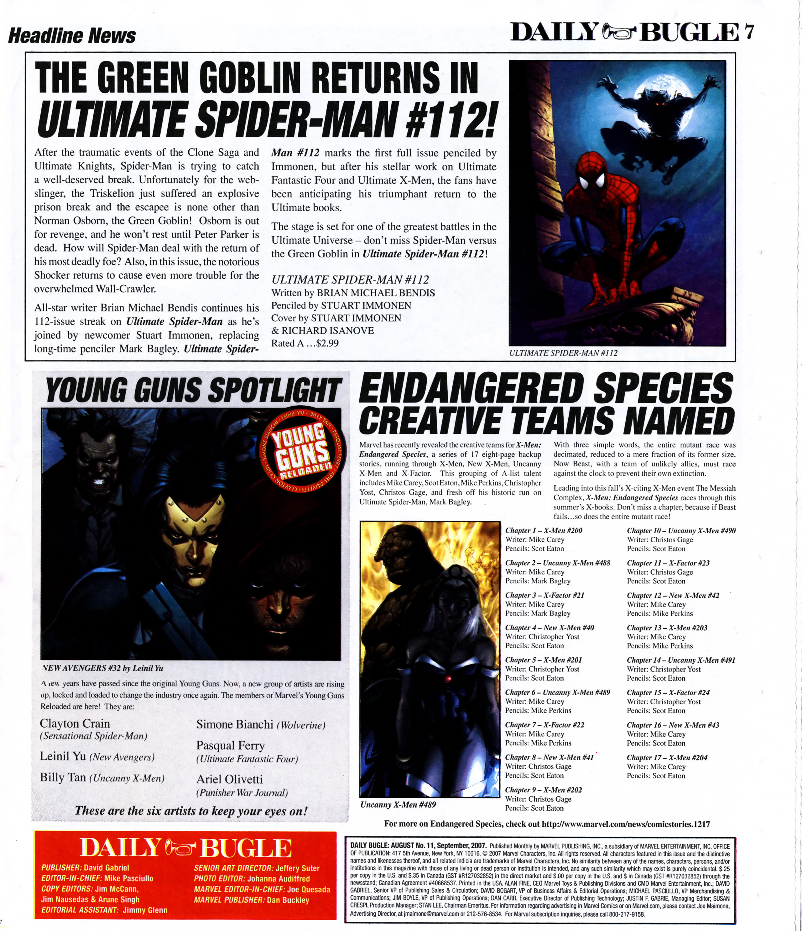 Read online Daily Bugle (2006) comic -  Issue #11 - 7