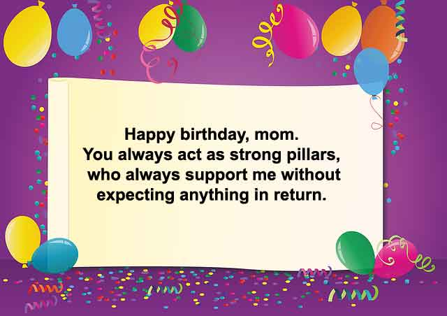Happy Birthday Wishes, Quotes & Messages To My Mom