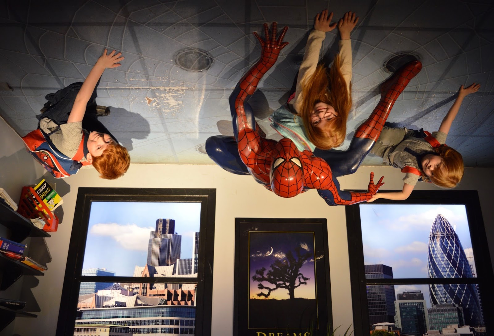 7 Super Cool Indoor Activities your Kids will Love in Sydney, Australia - Spiderman at Madame Tussauds