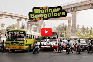 Indien Reise von Munnar nach Bangalore Abenteuer und Weltreise in Indien Katja und Arkadij die Wegsucher WELTREISE.TV