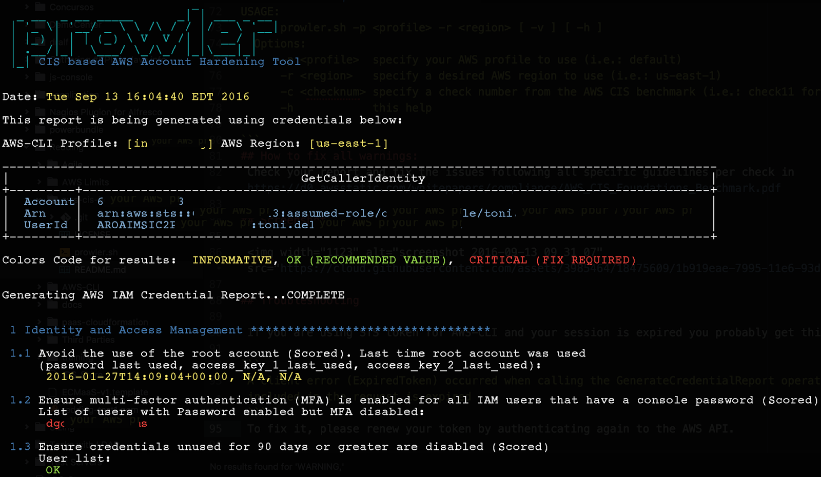 Prowler - Tool for AWS Security Assessment, Auditing And