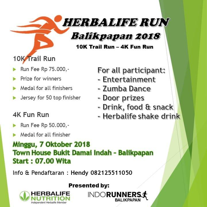 Herbalife Run - Balikpapan • 2018