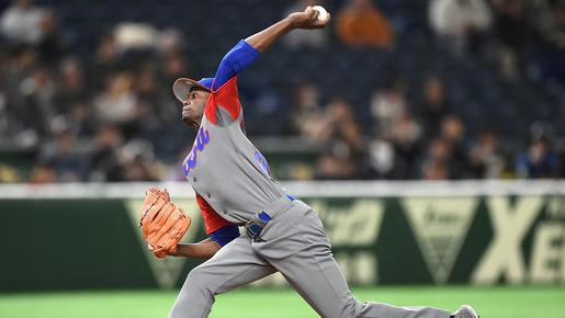 El propio Moinelo informó que como todos los peloteros cubanos que se incorporan a las ligas japonesas arrancará en las menores