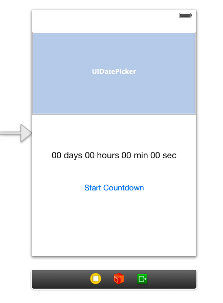 How to make a countdown app | iOS Programming Tutorials