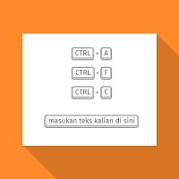 Cara Membuat Efek Tombol Keyboard di Blogger Dengan CSS
