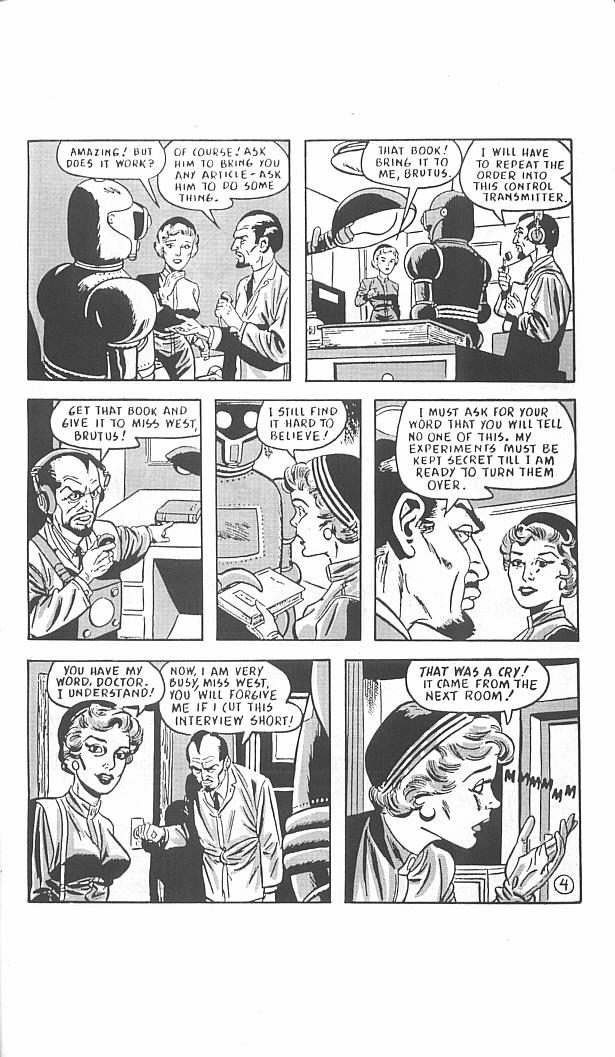 Read online Golden-Age Men of Mystery comic -  Issue #11 - 33