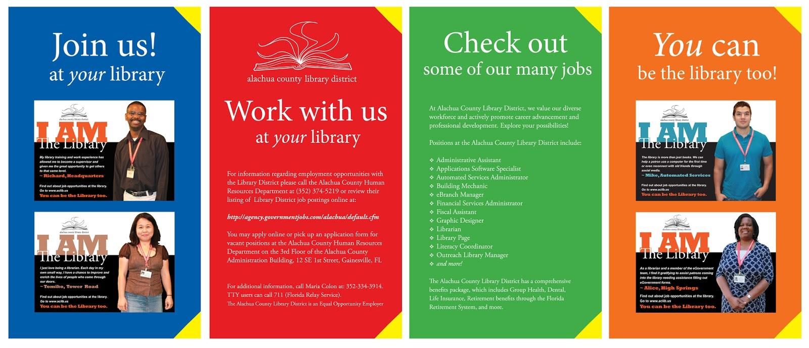 library marketing design library recruitment job fair poster designs