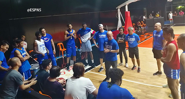 Gilas Pilipinas Practice for the 2019 FIBA World Cup (VIDEO) July 22