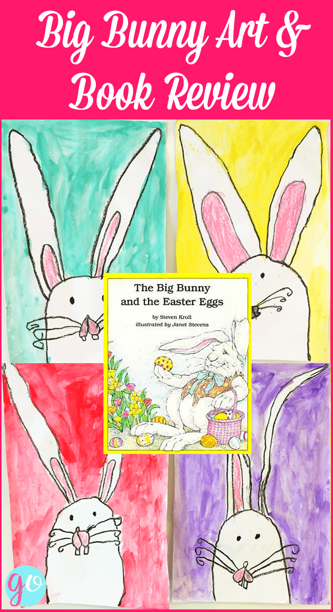 The Big Bunny and the Easter Eggs book review and related Easter activities for first grade. By GradeONEderful.com